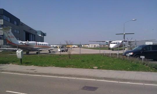 vliegtuigen Eindhoven Airport