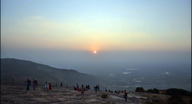 sunset nandi hills