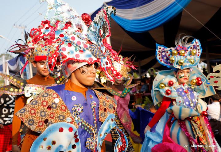 Totalitas anak muda dalam mensukseskan Karnaval Budaya