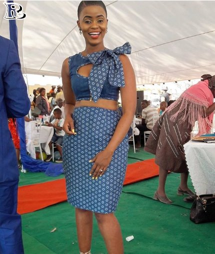 elegant shweshwe dresses 2018