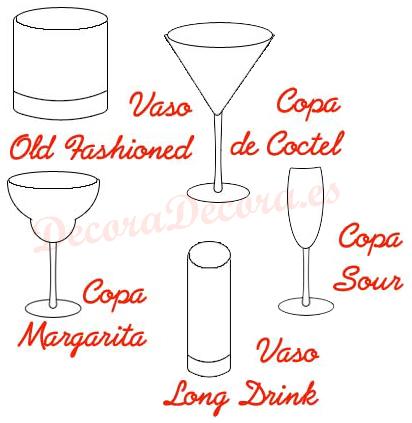 Vasos y copas para c cteles for Vasos de coctel