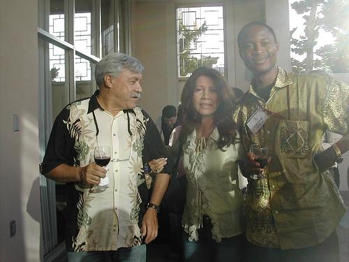 Mark (USA), Dora (Bolivia), Tinshu (Cameroon)