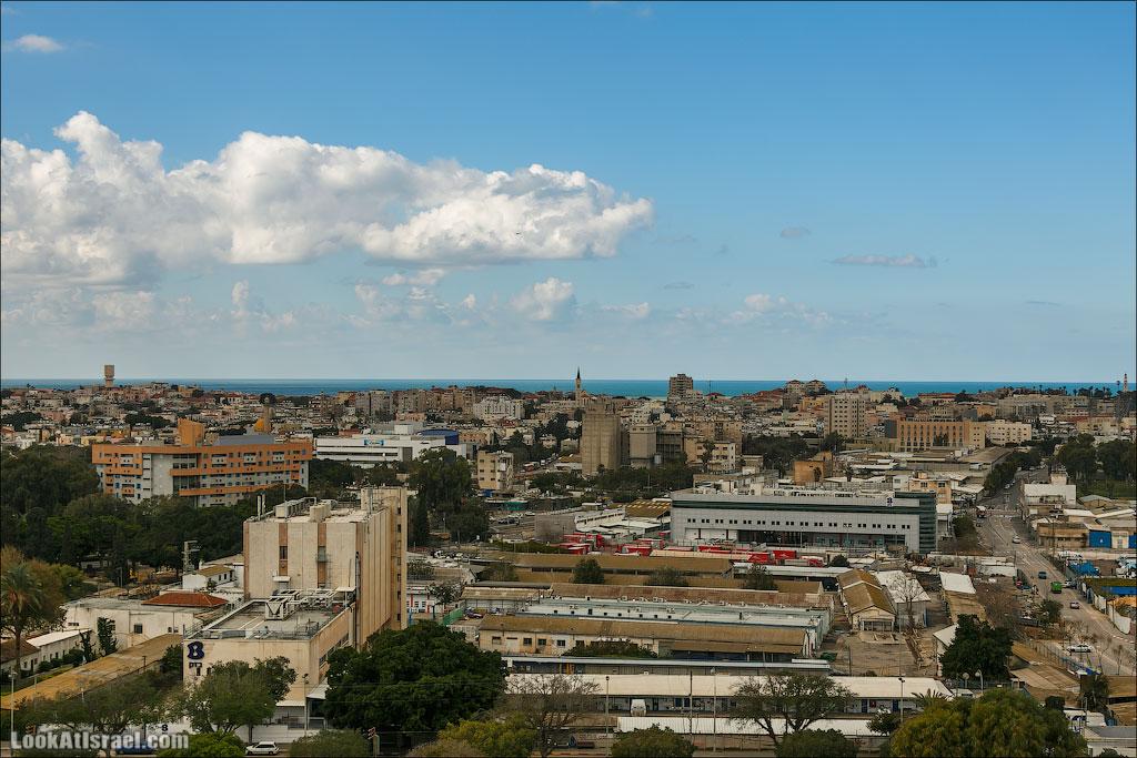 Самый необычный вид на Тель Авив | LookAtIsrael.com - Фотографии Израиля и не только...