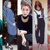 Stylish Winter Hijab Fashion Ideas 2016