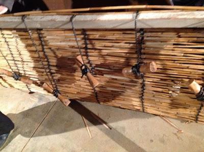 伝統的な玉露や抹茶の覆いで使われる、よしずの作り方 - 11
