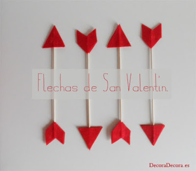 Idea 1 para decorar en San Valentín