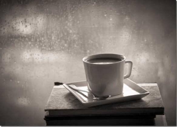 efek asap di segelas kopi