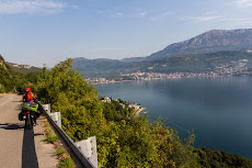 First glimpse of Montenegro.