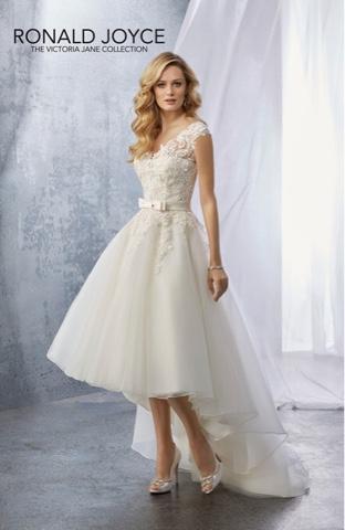 Short wedding dresses tea length