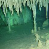 stalagtiter i sistema calimba