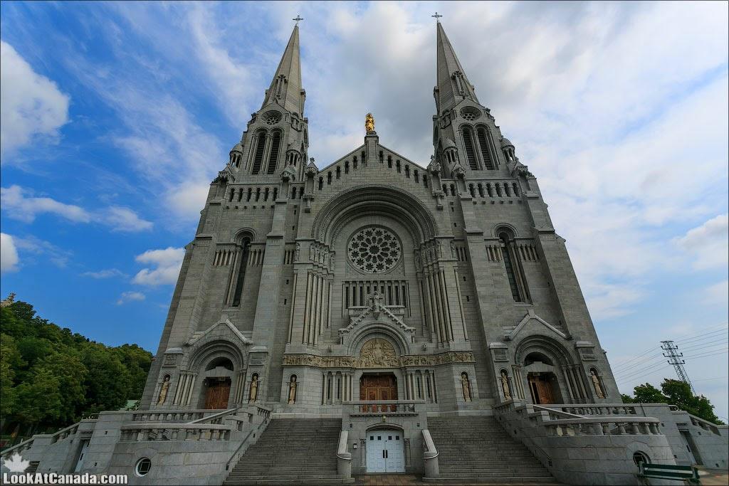 LookAtCanada.com / Sainte Anne de Beaupre – город и церковь | LookAtIsrael.com - Фотографии Израиля и не только...