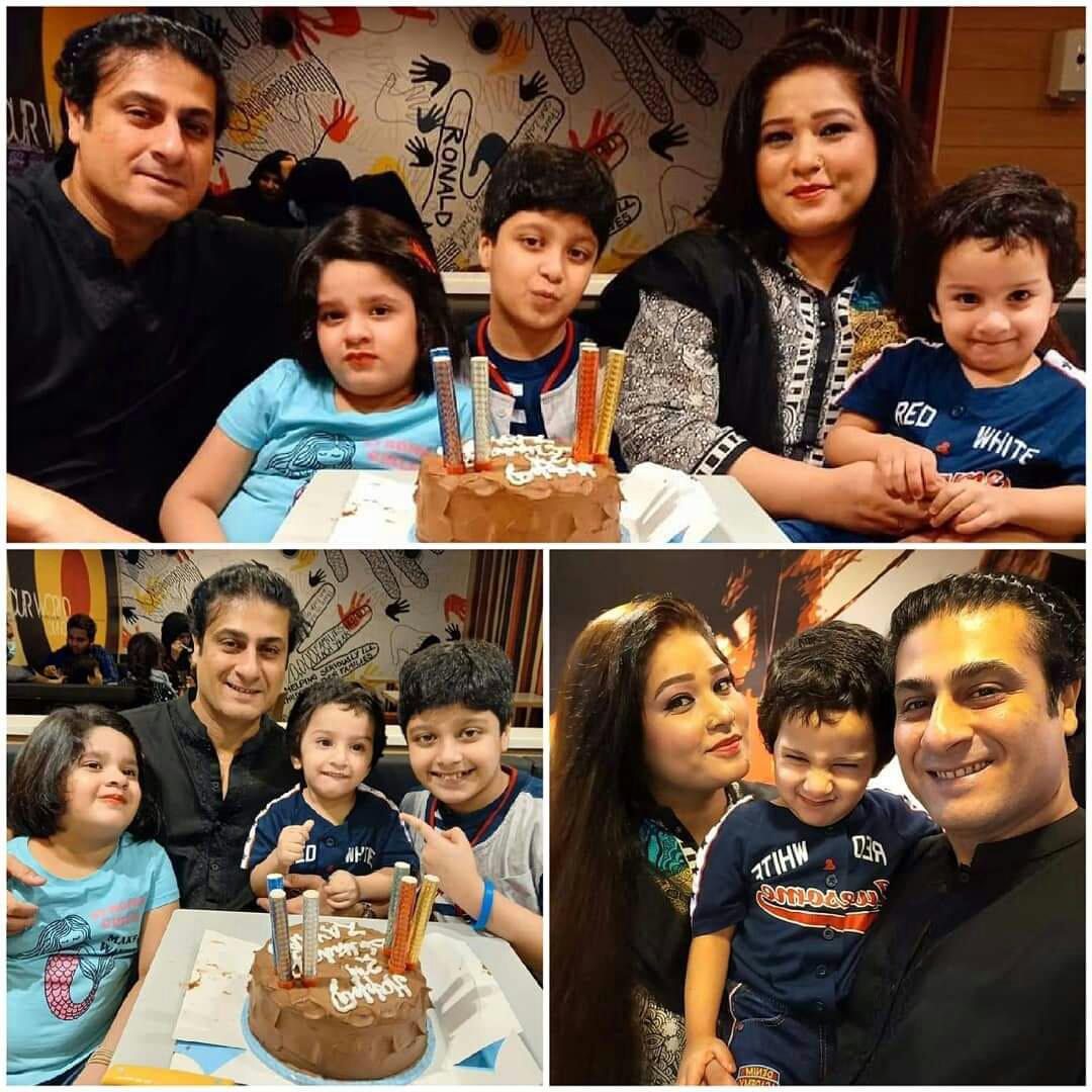 kamran Jeelani and Fatima Kamran celebrated Birthday of their son