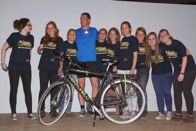 winnaar tombola fiets, Anthony Henzo