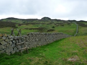 Looking back to Gowbarrow Fell.