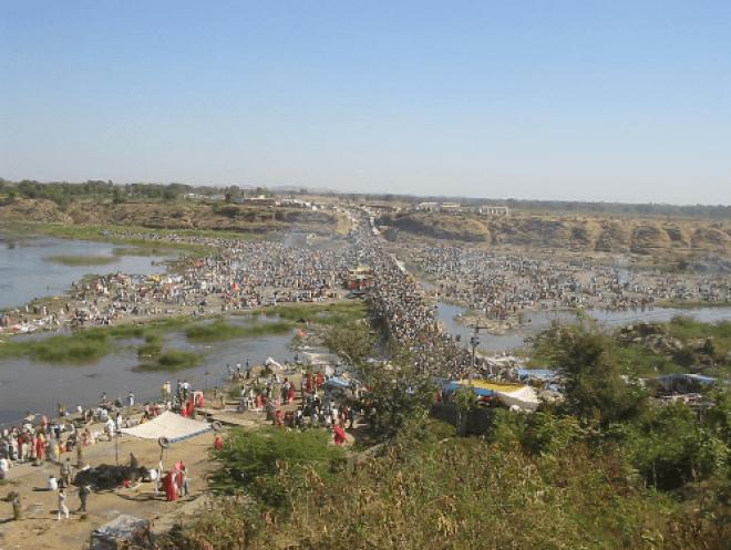Image result for images of Beneshwar Dham