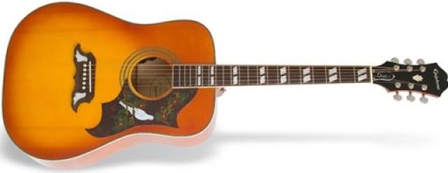 Epiphone Dove Pro Acoustic-Electric Guitar
