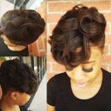 natural black short hairstyles 2017