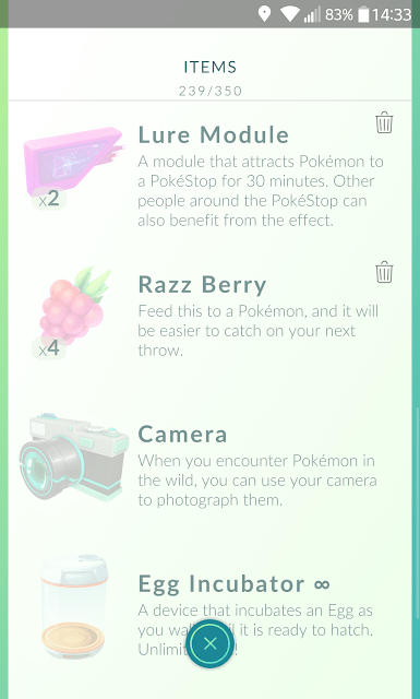 pokemon go item