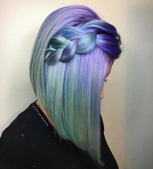 Popular Magical Mermaid  Hair  Ideas For 2019 Summer