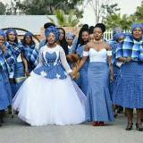 2018 … Shweshwe Inspired Wedding Dresses