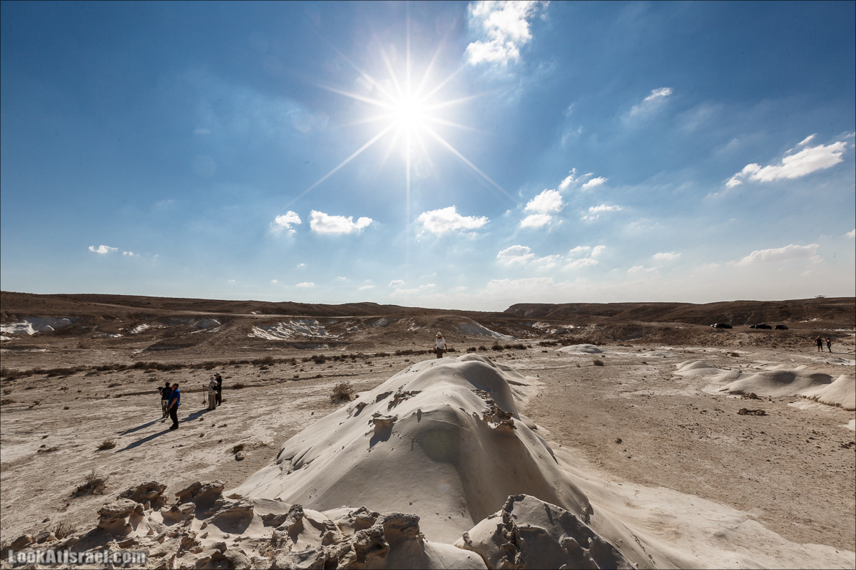Белая пустыня (Хамукей Ницана) | Nizzana Hillocks | חמוקי ניצנה | LookAtIsrael.com - Фото путешествия по Израилю