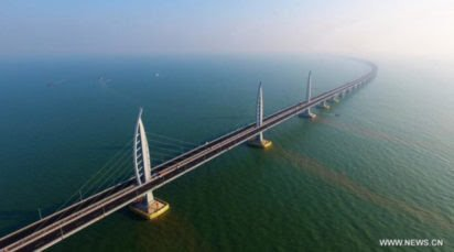 World's longest sea bridge constructed in China