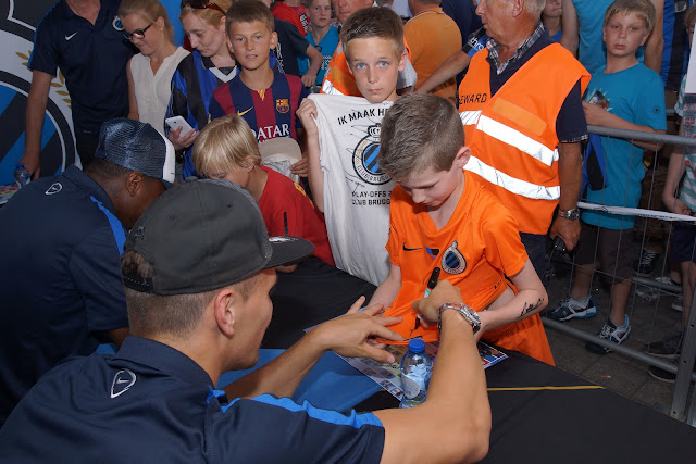 signeersessie Club Brugge