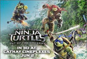 Out of the Shadows Teenage Mutant Ninja Turtles banner