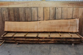 """Ash 389 - 1  2 1/2"""" x 27-18"""" Wide x 12' Long  Kiln Dried"""