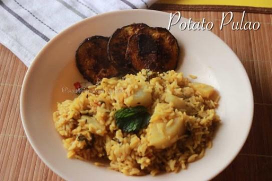 Potato Pulao1