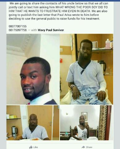 How Late Paul Arisa's Uncle Allegedly Maltreated Him Before His Death(Pics)