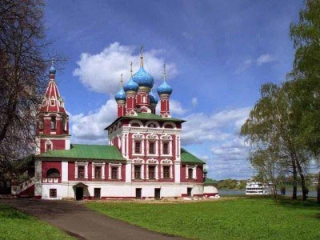 Церковь царевича Димитрия «на крови» в Угличе