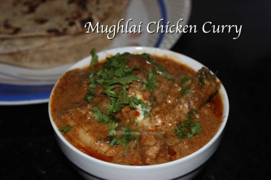Mughlai Chicken Curry2