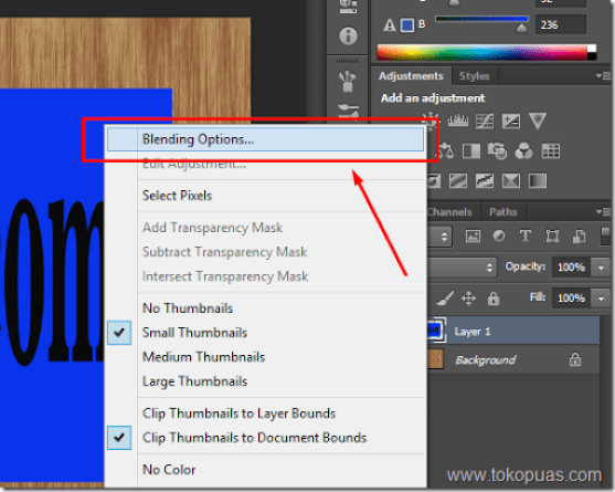trik tutorial kayu photoshop layer style