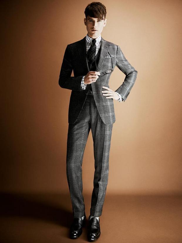*Tom Ford男性最高指標2013AW形象:展現奢華復古紳士魅力 5