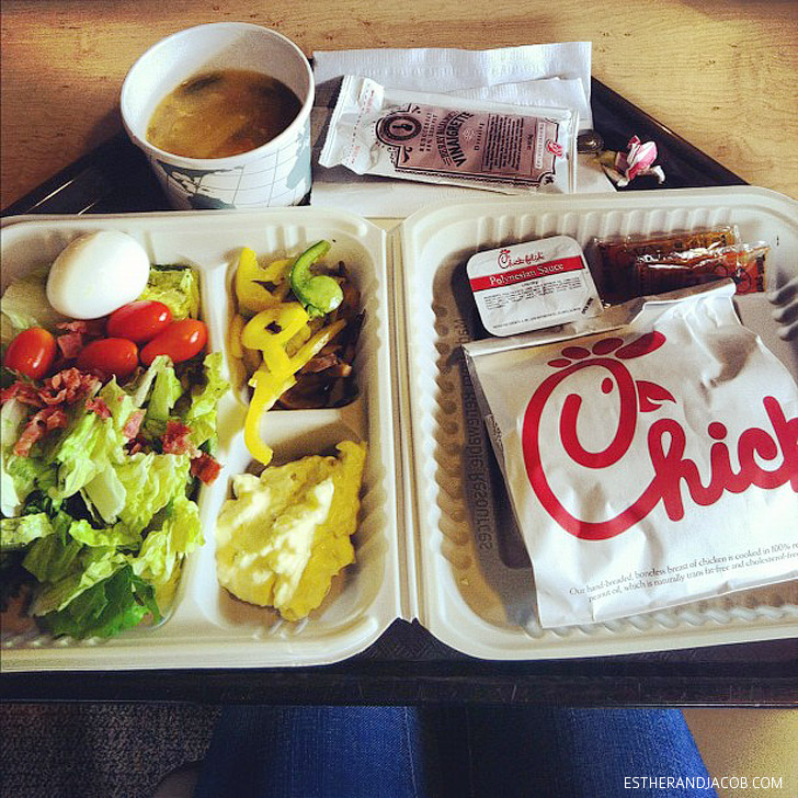 Lunch at Chick Fil A Corporate Headquarters.