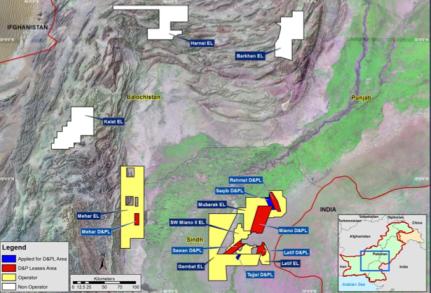 Latif gas field, OMV interest in Pakistan