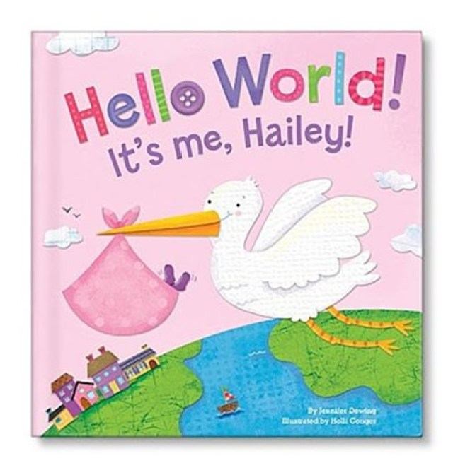 I-See-Me-Hello World Personalized Book