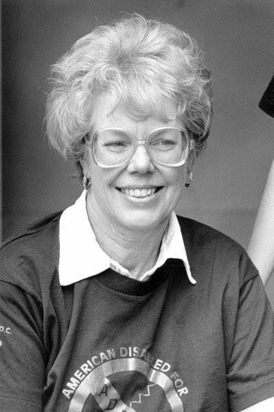 Barbara Toomer, June 5, 1989