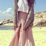 pink outfit ideas for women 2015 2016