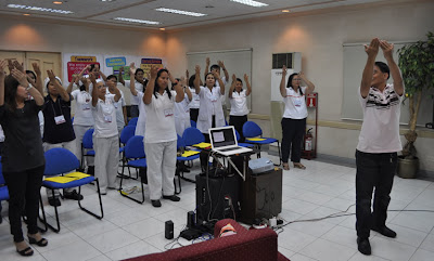 """Batch 1: For their last lesson, Sir Jojo teaches them the song """"Our Father""""."""