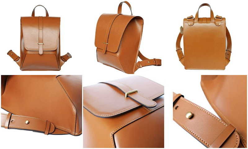 IRON BACKPACK GENUINE LEATHER