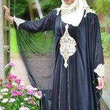 simple abaya styles with hijab 2015 2016