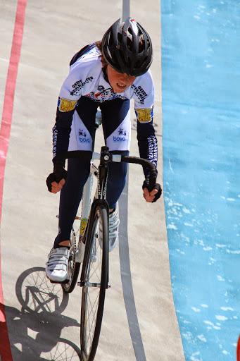 jonge wielrenner
