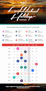 Indonesian Public Holidays 2015