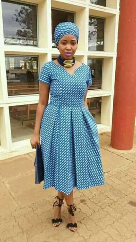 Stylish Shweshwe Design ..... 2018