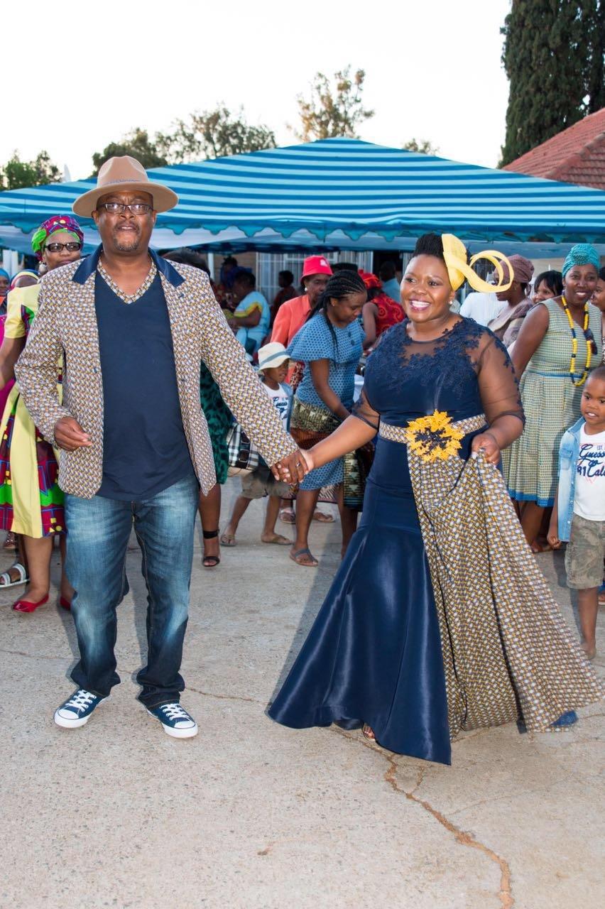 Wedding Traditional Shweshwe Dresses