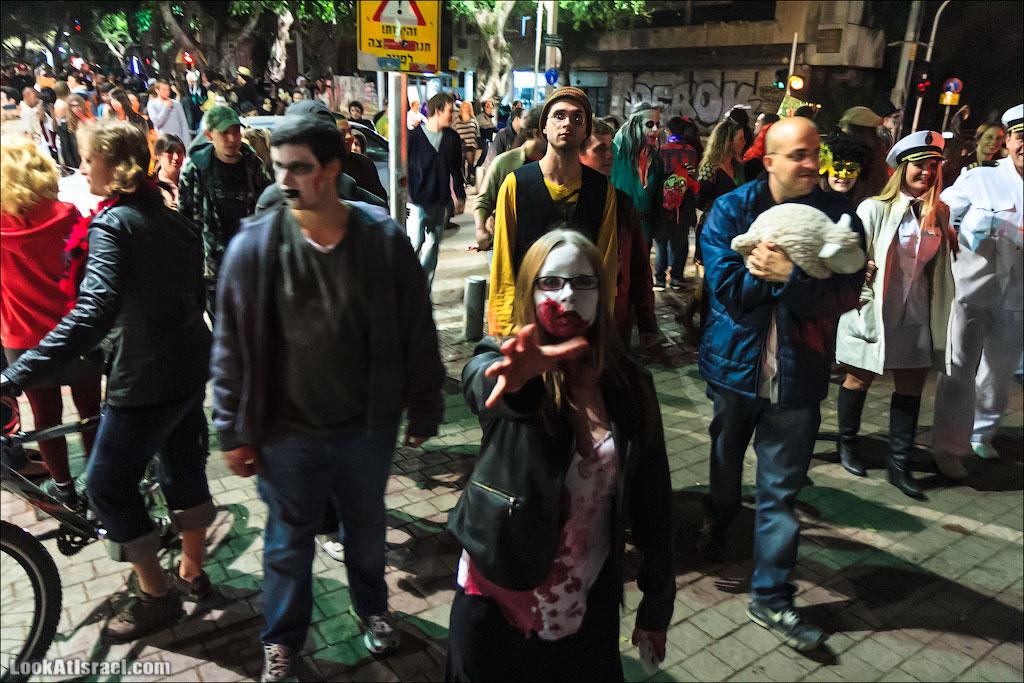 Парад зомби в Тель Авиве – Zombie Walk TLV 2013   LookAtIsrael.com - Фотографии Израиля и не только...