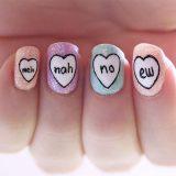 easy valentine nail designs 2016