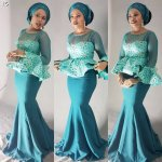 Perfect Aso Ebi Styles Over the Weekend